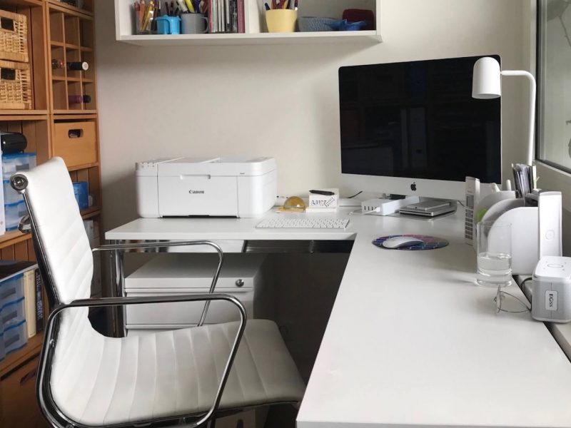 biurko drukarka